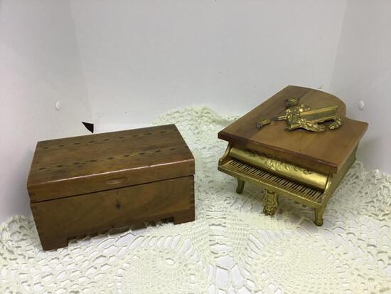 Pr Wooden Music Boxes