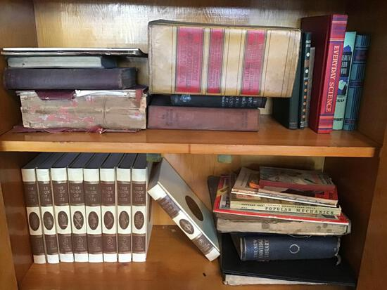 Reference, History, Etc. Books