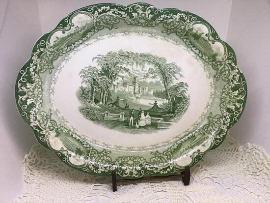 Meakin Platter. 14 Inches