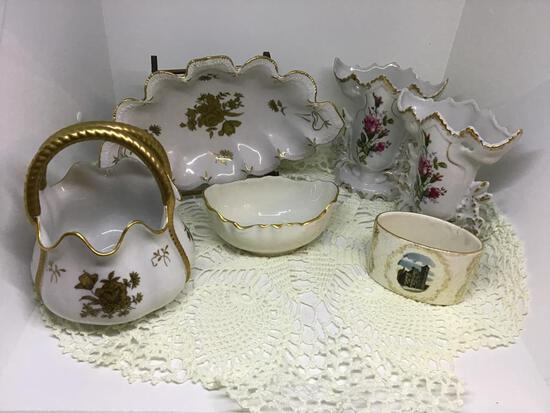 6 Pieces Porcelain