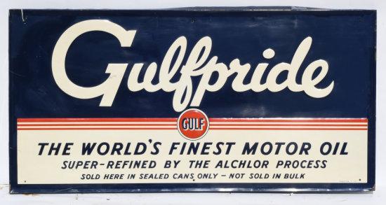 Gulfpride Horizontal Tin Sign