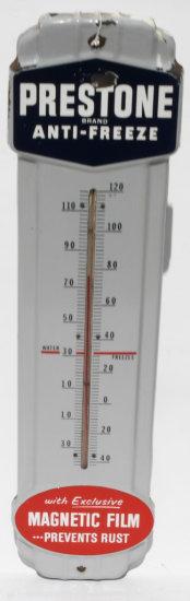 Prestone Anti Freeze Porcelain Themometer