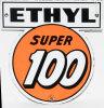 Clark Super 100 Ethyl Porcelain Pump Plate