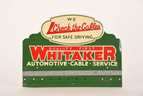 Whitaker Automotive Cable Service Sign