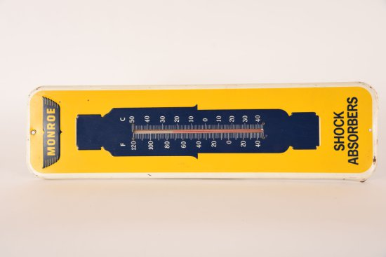 Monroe Shock Absorbers Tin Thermometer