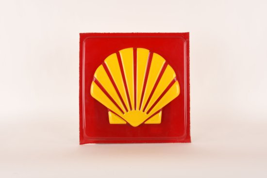 Shell Lighted Sign Plastic Lens
