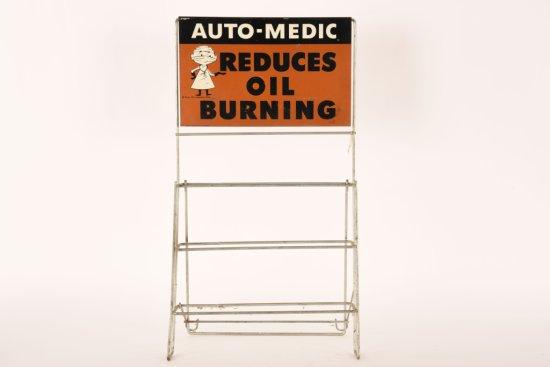 Wynn Oil Company Auto-Medic Rack