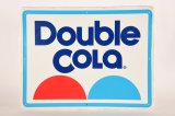Double Cola Tin Sign