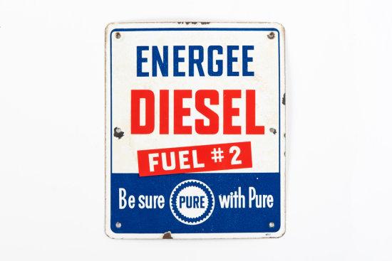 Pure Energee Diesel Fuel #2 Porcelain PP