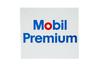 Mobil Premium Gasoline Porcelain Gas Pump Sign