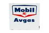 Mobil Aviation Gasoline Porcelain Gas Pump Sign
