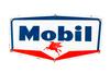 Mobil Porcelain Truck Door Sign