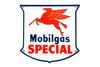1952 Mobilgas Special Porcelain Gas Pump Sign