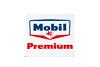 Mobil Gasoline Premium Porcelain Gas Pump Sign