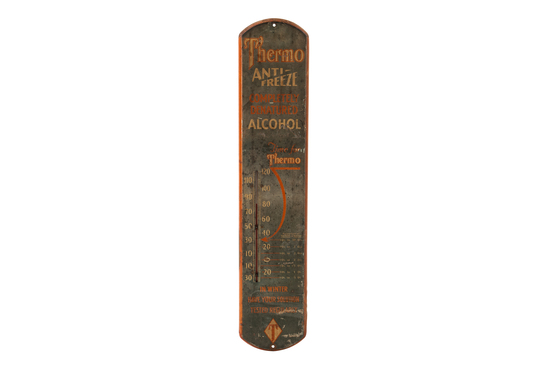 """Thermo Anti-freeze """"completely Denatured Alcohol"""" Thermometer"""