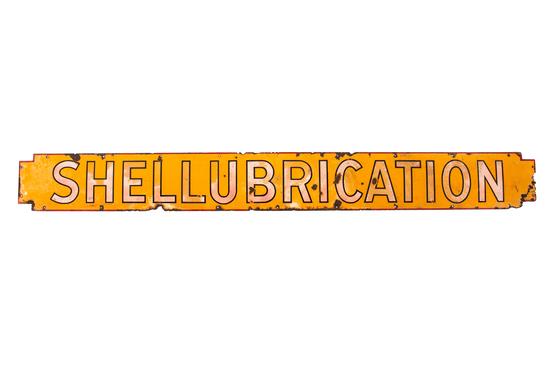 Shellubrication Sign
