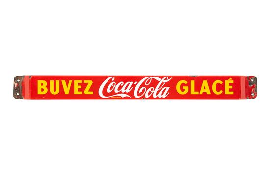 Coca-cola French-canadian Door Push