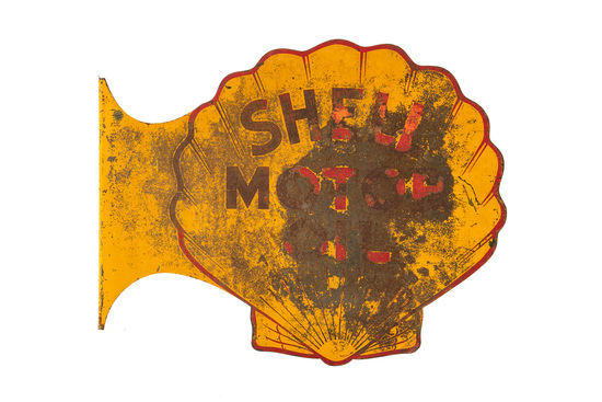 Shell Motor Oil Sign