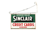 Sinclair Credit Card Honored Sign