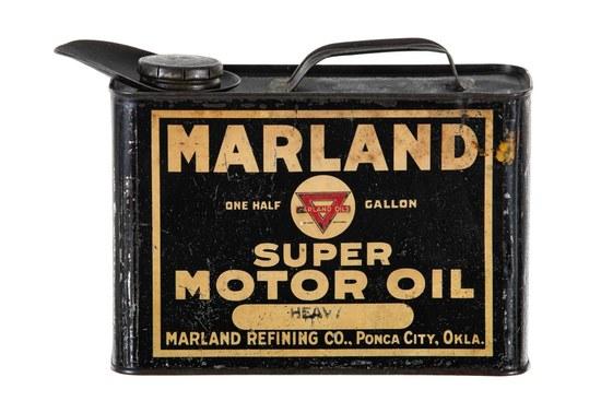 Marland Super Motor Oil 1/2 Gallon Can