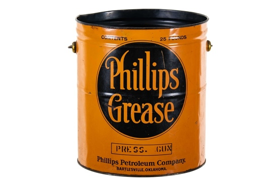Early Phillips Petroleum Grease Can