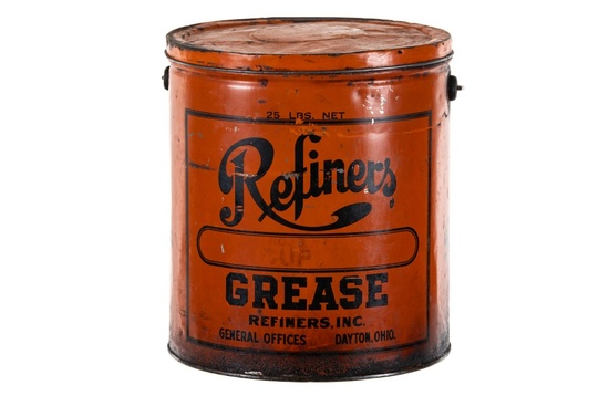 Refiners Grease Can