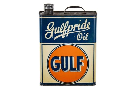 Gulf Gulfpride Oil 1 Gallon Can
