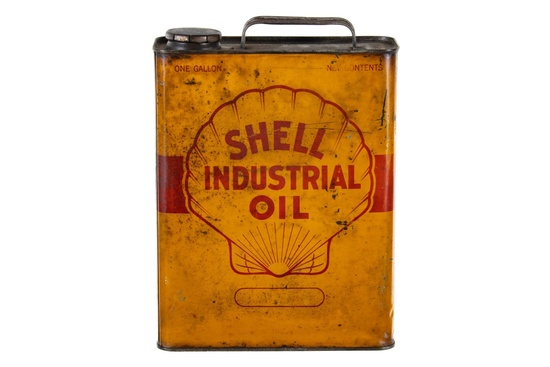 Shell Industrial Oil 1 Gallon Can