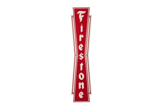 Firestone Tires Tin Sign