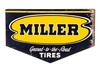 Miller Tires Tin Sign