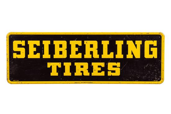 Seiberling Tires Tin Sign