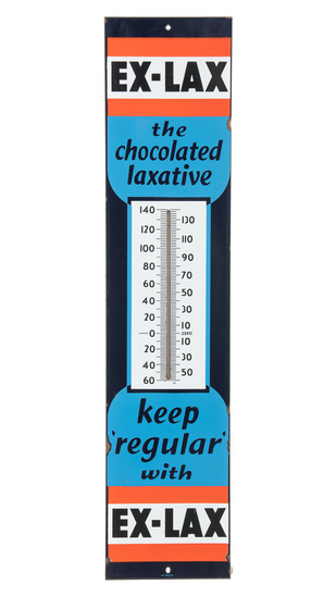 Ex-Lax The Chocolate Laxative Thermometer