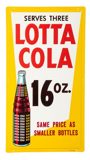 Lota Cola 16oz Vertical Sign