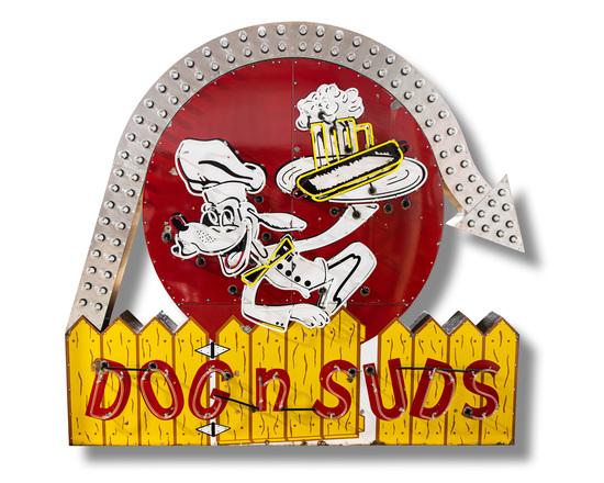 Dog N' Suds Sign