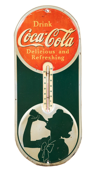 Coca Cola Delicious And Refreshing Thermometer
