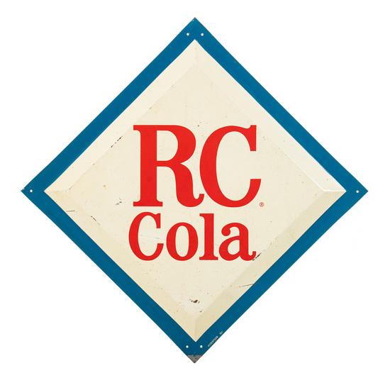 RC Cola Diamond Sign