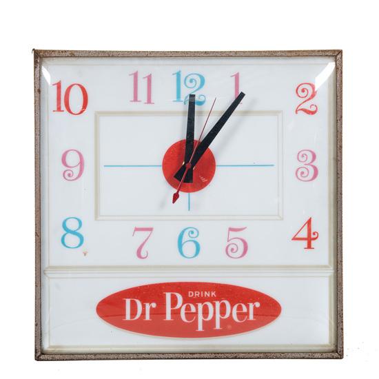 Drink Dr Pepper Clock