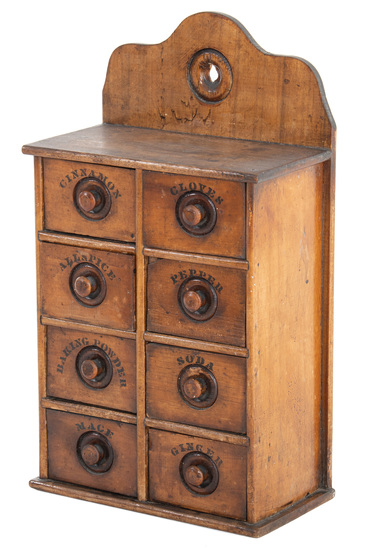 8 Drawer Spice Cabinet