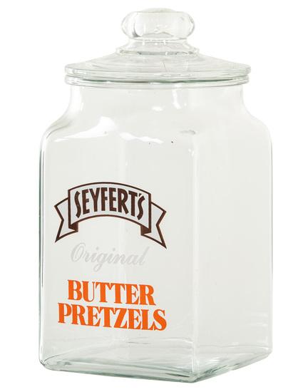 Seyfert's Butter Pretzels Jar