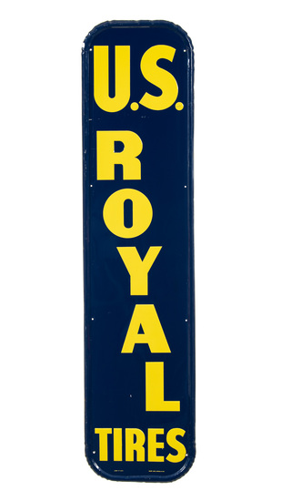 U.S. Royal Tires Vertical Sign