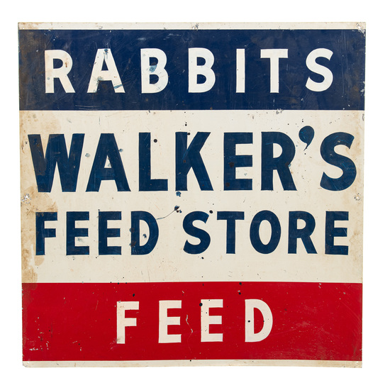 Walker's Feed Store Sign