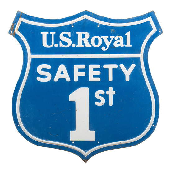 U.S. Royal Safety First Sign