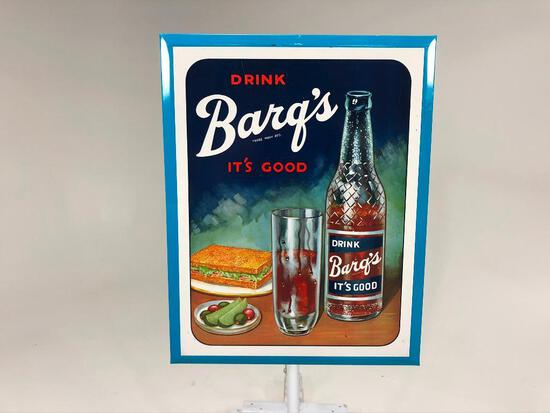 Barq's Rootbeer Sign