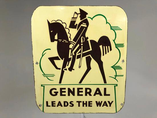General Leads The Way Sign