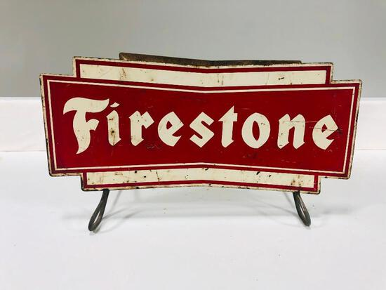 Firestone tire stand