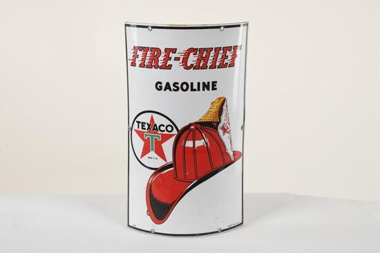 Curved Fire-Chief Sign