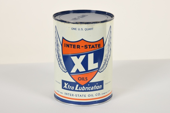 Inter-State Quart Oil Can