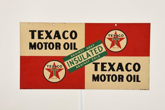 Texaco Motor Oil Sign