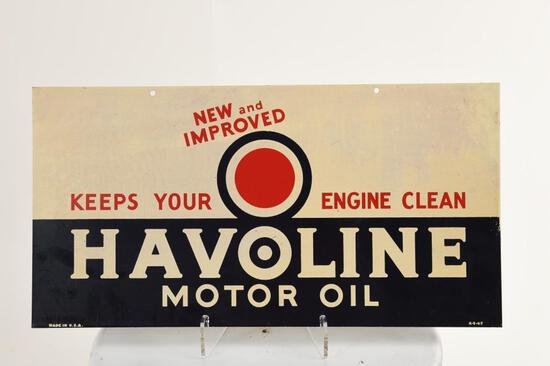 Havoline Motor Oil Sign