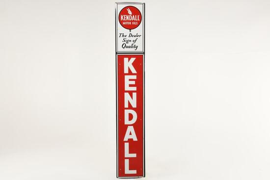 Kendall Oil Vertical Sign